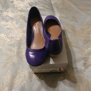 Purple Jessica Simpson JS-Hill style
